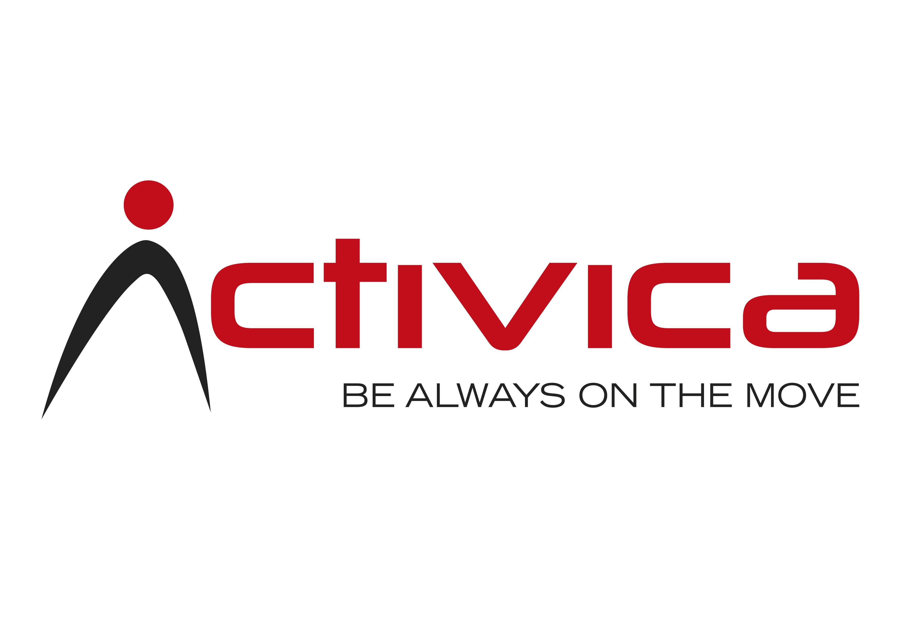 También hicimos el logotipo de Activica como identidad corporativa.