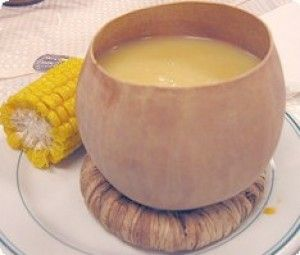 Ingredientes una mano de maíz recién cortado y despojado