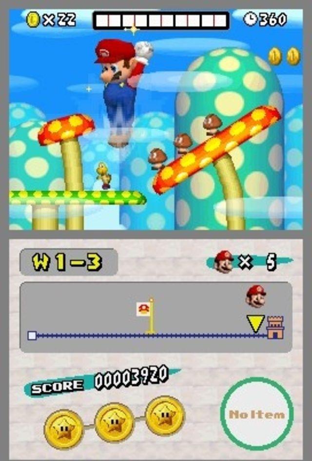 New Super Mario Bros - best hand held game | Videogames