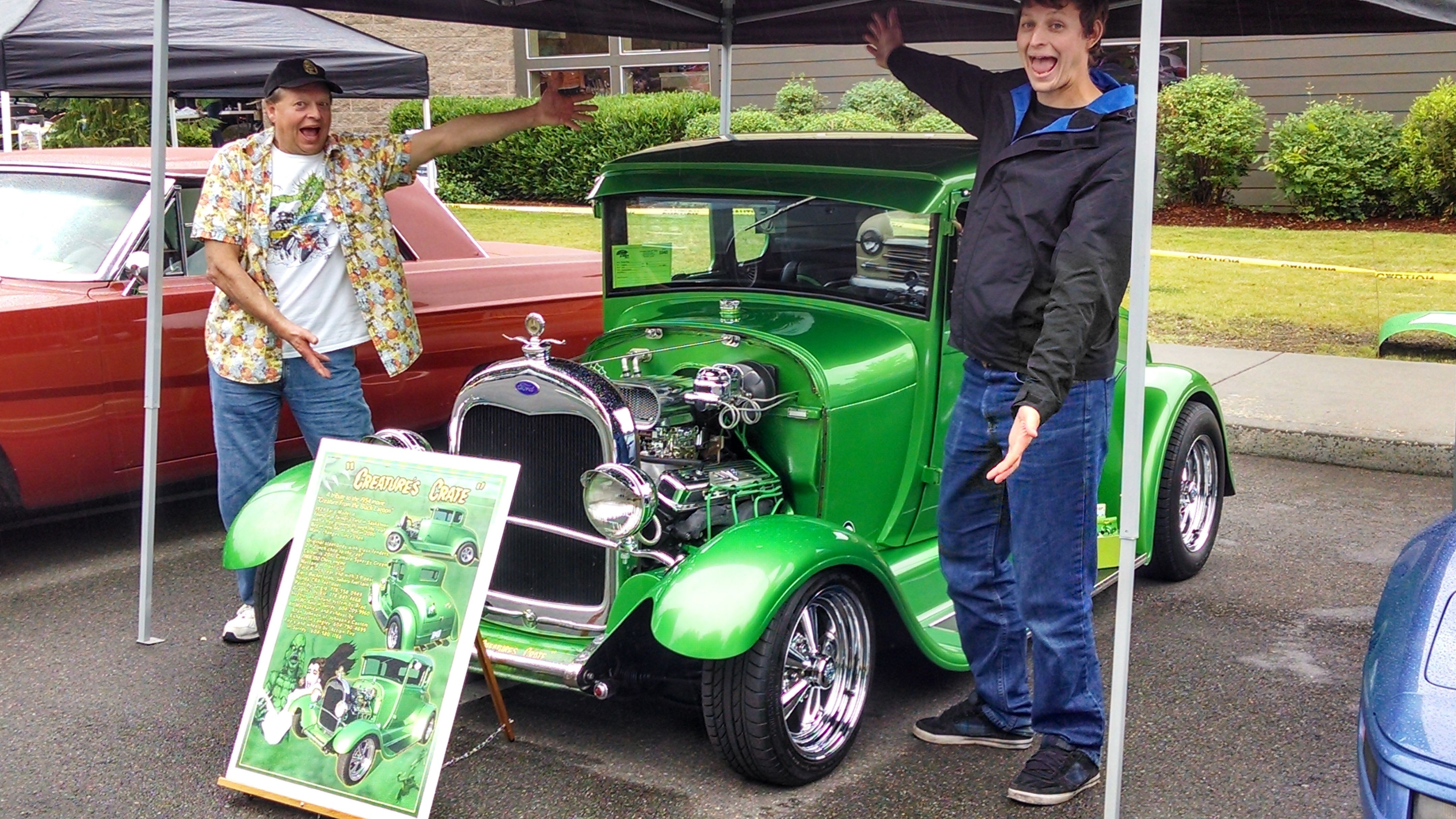 At The Maltby Hogs And Rods Car Show In Washington State Hot - Car shows in washington state