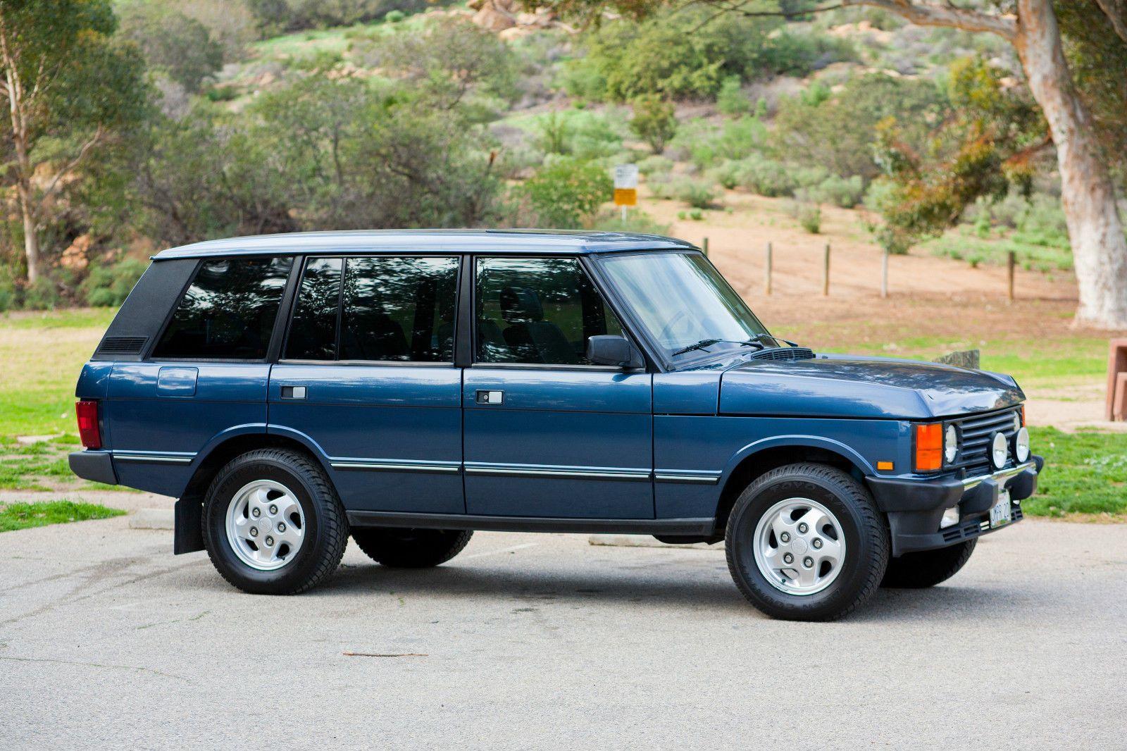 1995 land rover range rover lwb land rover range rover pinterest voitures bleues voitures. Black Bedroom Furniture Sets. Home Design Ideas