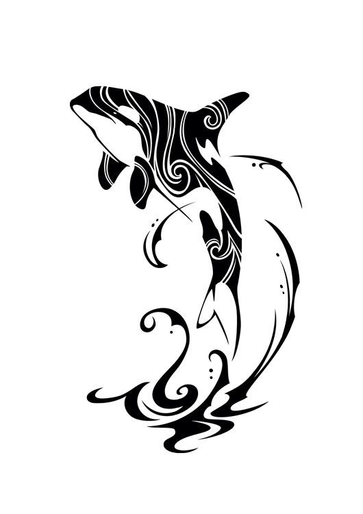 6190081c0 Tribal Orca 2015 by Takihisa on DeviantArt | My Style | Orca tattoo ...