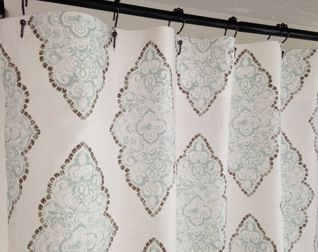 84 Inch Wide Shower Curtain Modern   Home decorasi   Pinterest