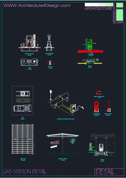Fuel Filling Stations Architecture Design A Collection Of