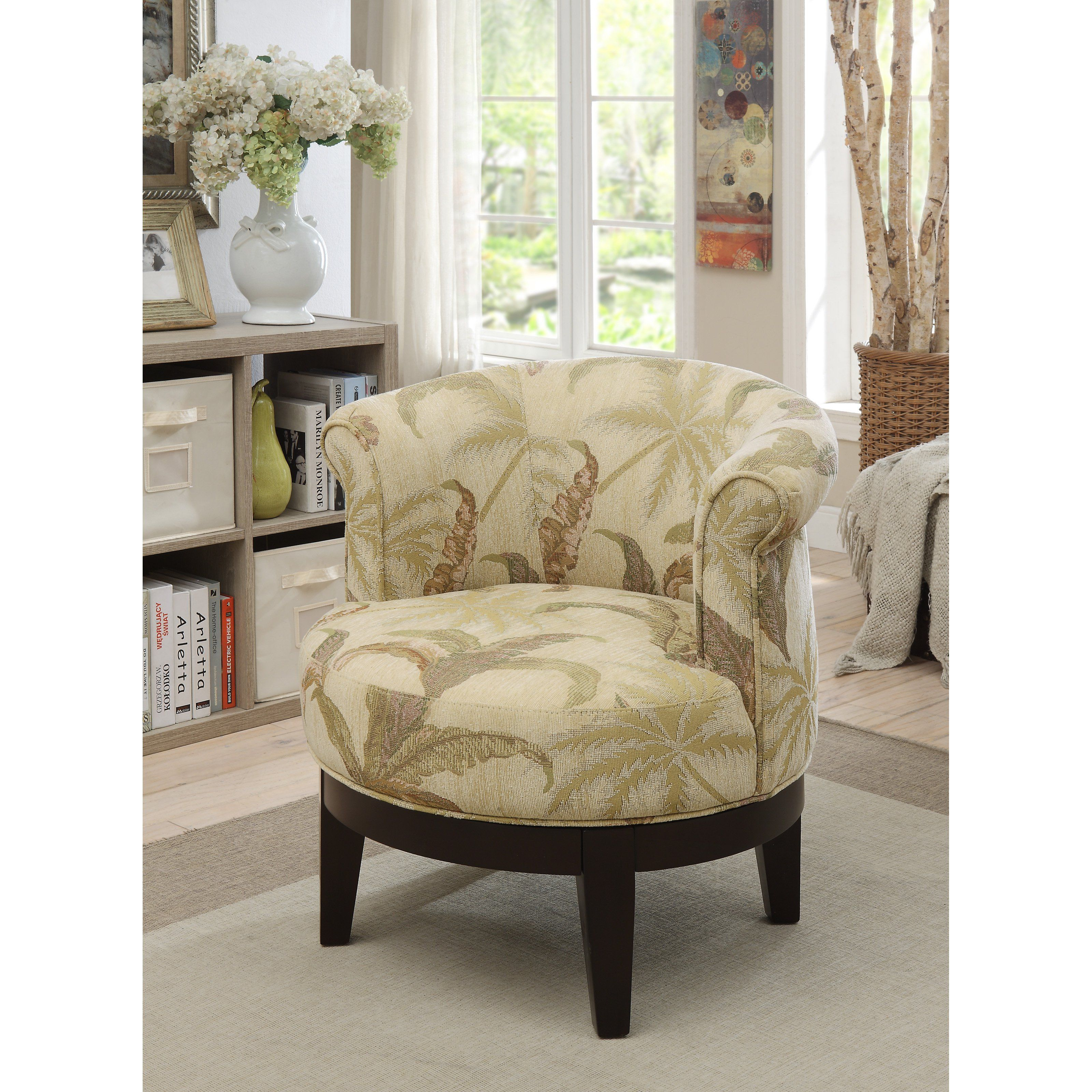 Coast to coast accent chair with swivel from hayneedle