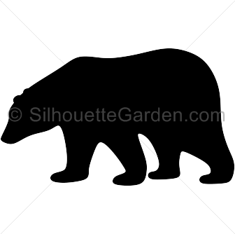 polar bear silhouette clip art download free versions of