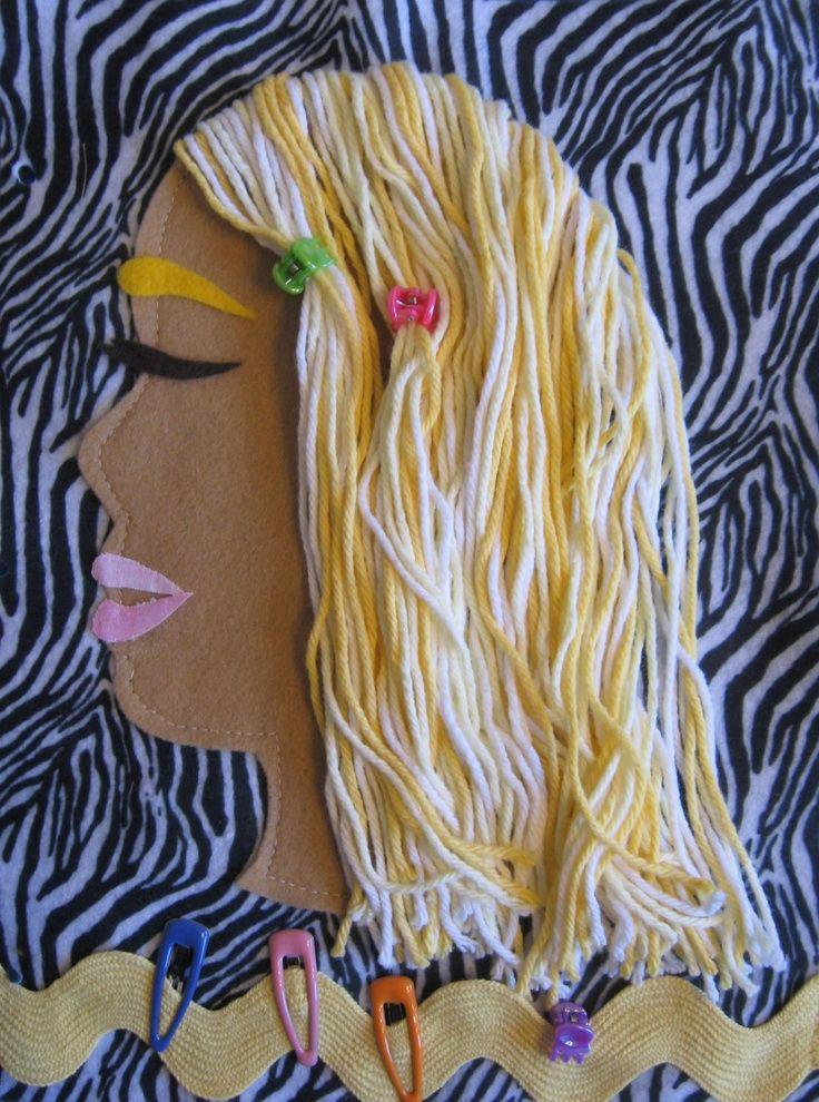Kids Hair Styles Kids Hair Styles Quiet Book Quiet Book Patterns Diy Quiet Books