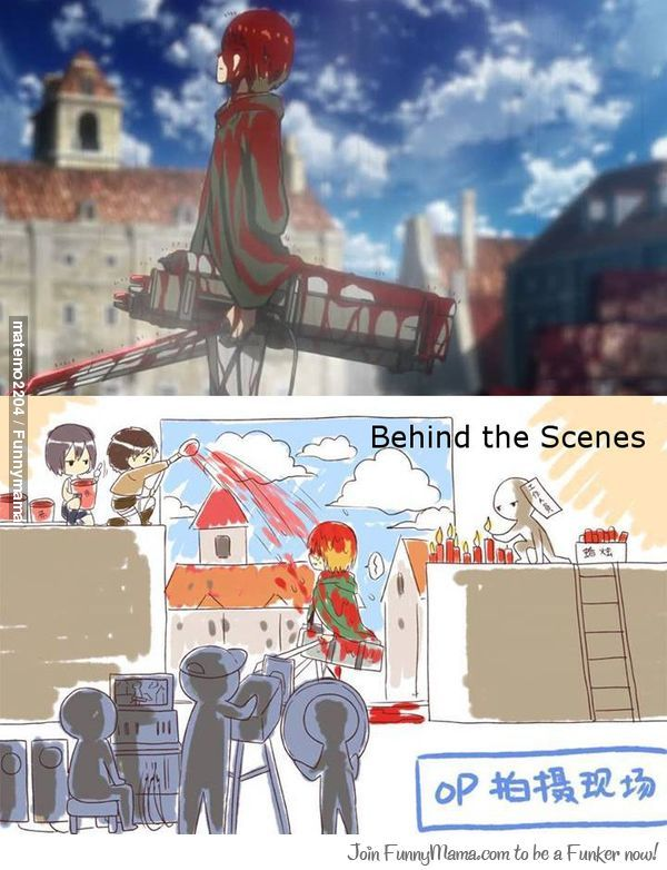 Behind The Scenes Of Attack On Titan Opening 2