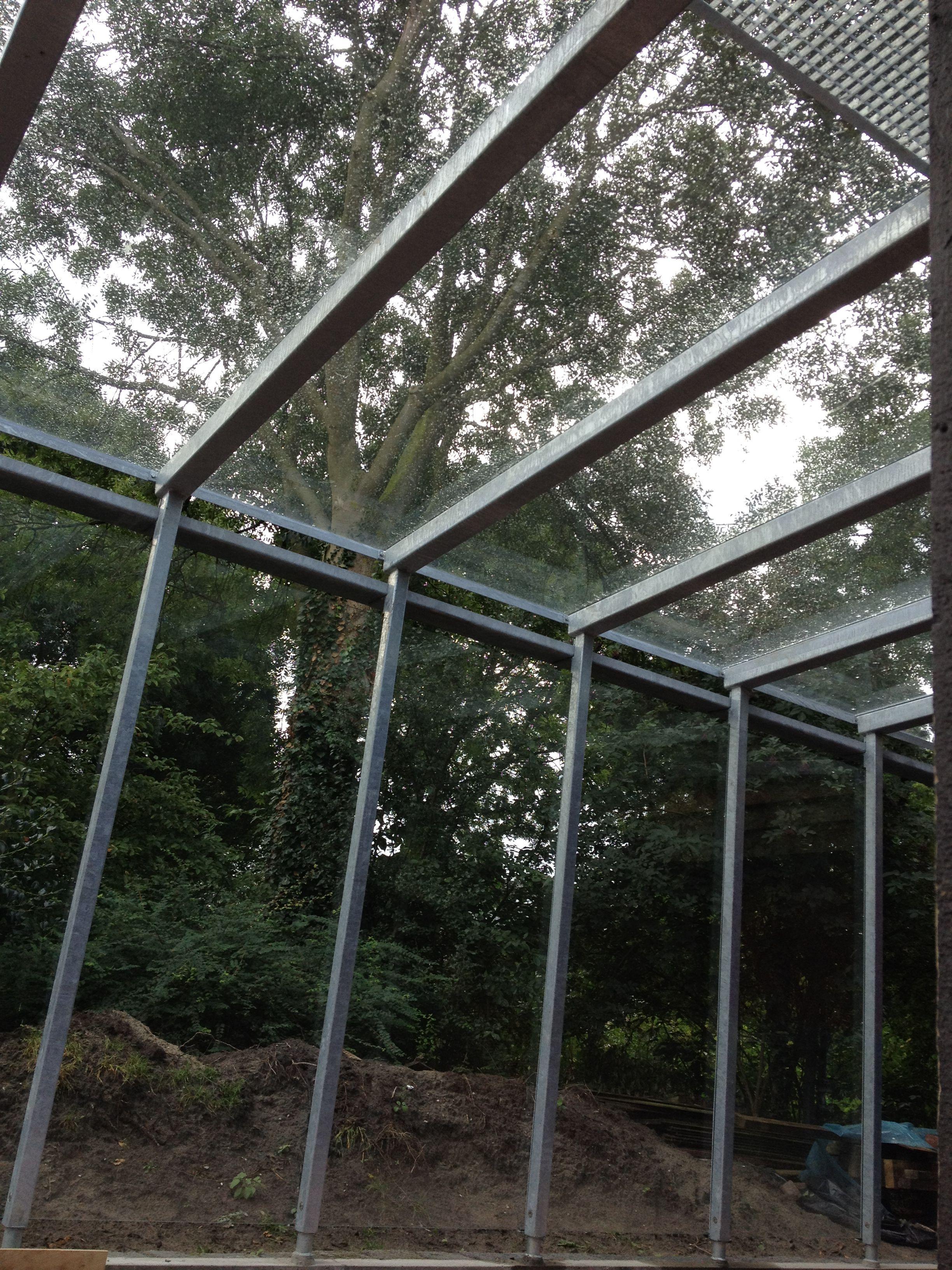 Carport Van Staal En Glas In Alkmaar Carport Staal Ontwerp