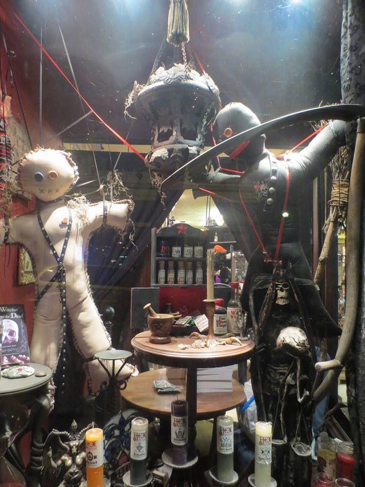 Voodoo Dolls In A Witchcraft Store In Salem Mass Salem Halloween Salem Voodoo