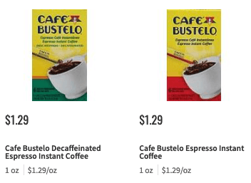 New 1 1 Cafe Bustelo Coffee Product Coupon 0 29 At Shoprite More Cafe Bustelo Bustelo Coffee Cafe