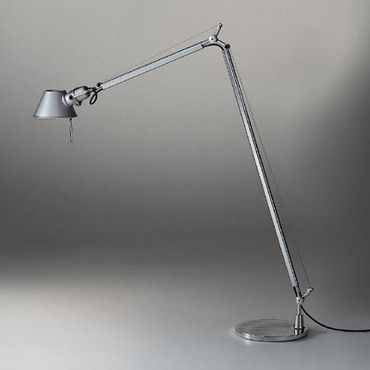 Tolomeo Reading Floor Lamp By Artemide Tlr0100 Floor Lamp Desk Lamp Light Architecture