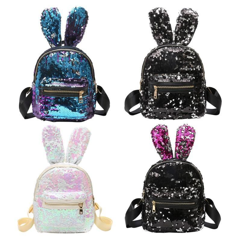 5d2edf2d6ab Bunny Ears Sequin Backpacks in 2019 | Bags | Sequin backpack, Bags ...
