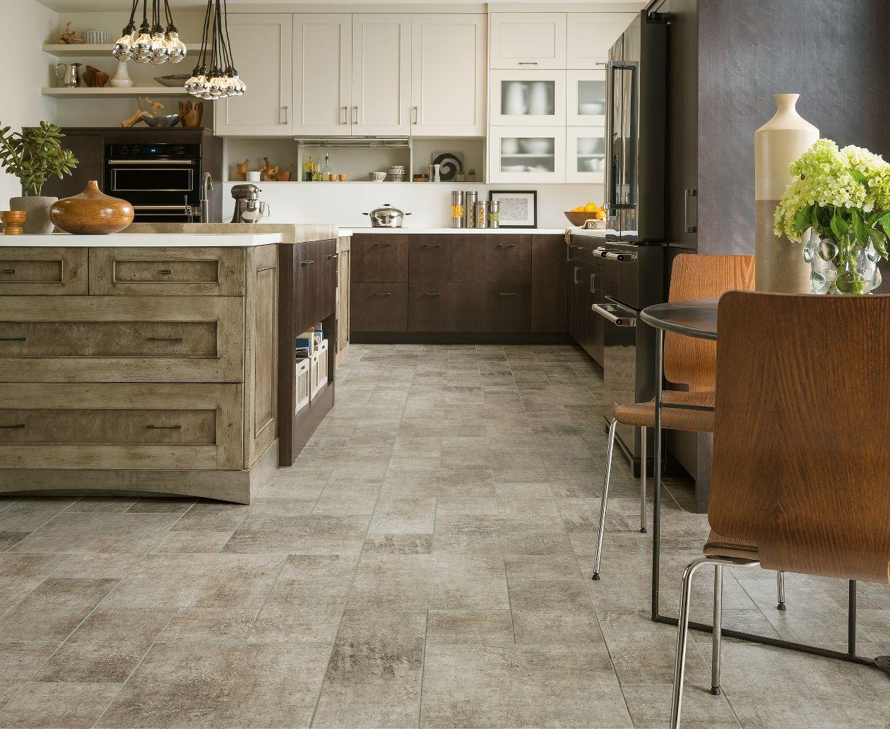 Distressed Concrete Gray 8p115 Luxury Vinyl Flooring