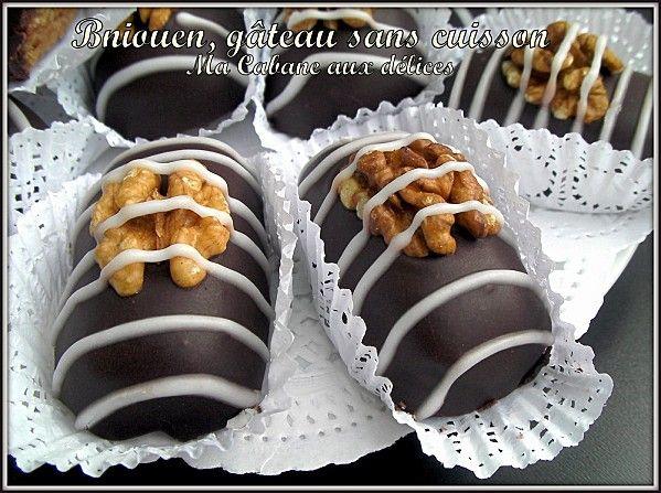 Bniouen gateau sans cuisson photo 3 gateau algerois pinterest gateaux sans cuisson - Gouter rapide sans cuisson ...