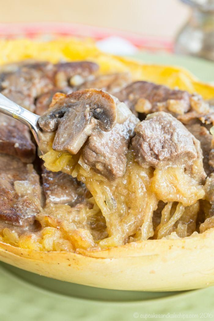 Skinny Beef Stroganoff Stuffed Spaghetti Squash - lighten up this classic dinner...  - Receipes - #Beef #classic #Dinner #lighten #receipes #Skinny #Spaghetti #Squash #Stroganoff #Stuffed #stuffedspaghettisquash Skinny Beef Stroganoff Stuffed Spaghetti Squash - lighten up this classic dinner...  - Receipes - #Beef #classic #Dinner #lighten #receipes #Skinny #Spaghetti #Squash #Stroganoff #Stuffed #stuffedspaghettisquash