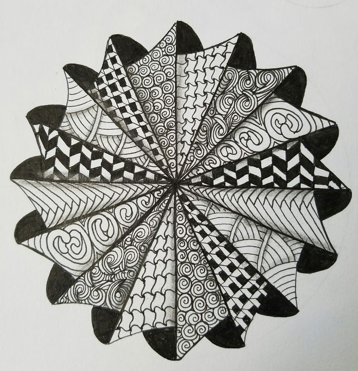 Afbeeldingsresultaat voor zentangle patterns how to draw ...
