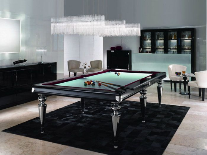 20 Playing Tables For A Luxury Gaming Room  Luxury Game Rooms Interesting Pool Table Living Room Design Design Ideas