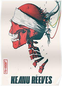 Keanu Reeves Logic Song 2019 ' Poster by eightyeightjoe in 2019