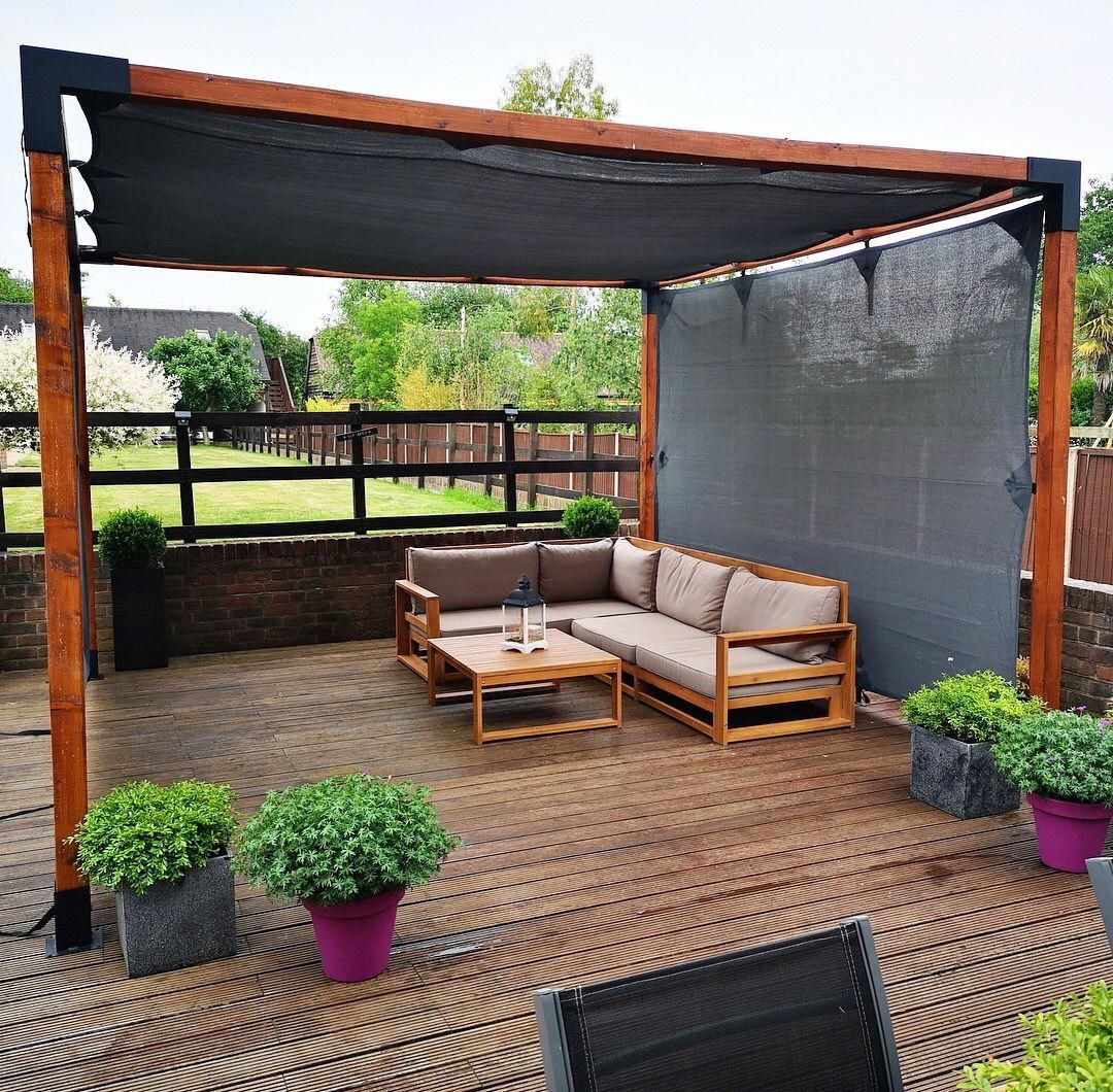 Hottubwithpergola Outdoor Pergola Backyard Patio Budget Patio