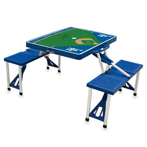Dodgers Picnic Table