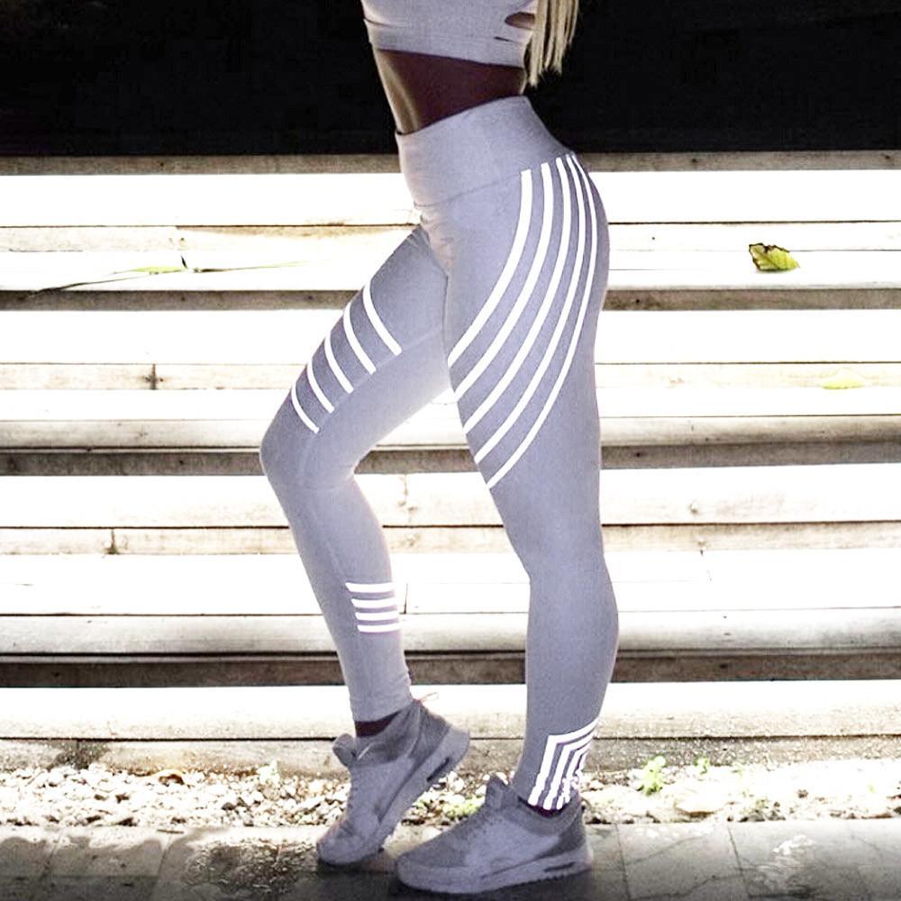 NEW Women Waist Yoga Fitness Leggings Running Gym Stretch Sports Pants Trousers