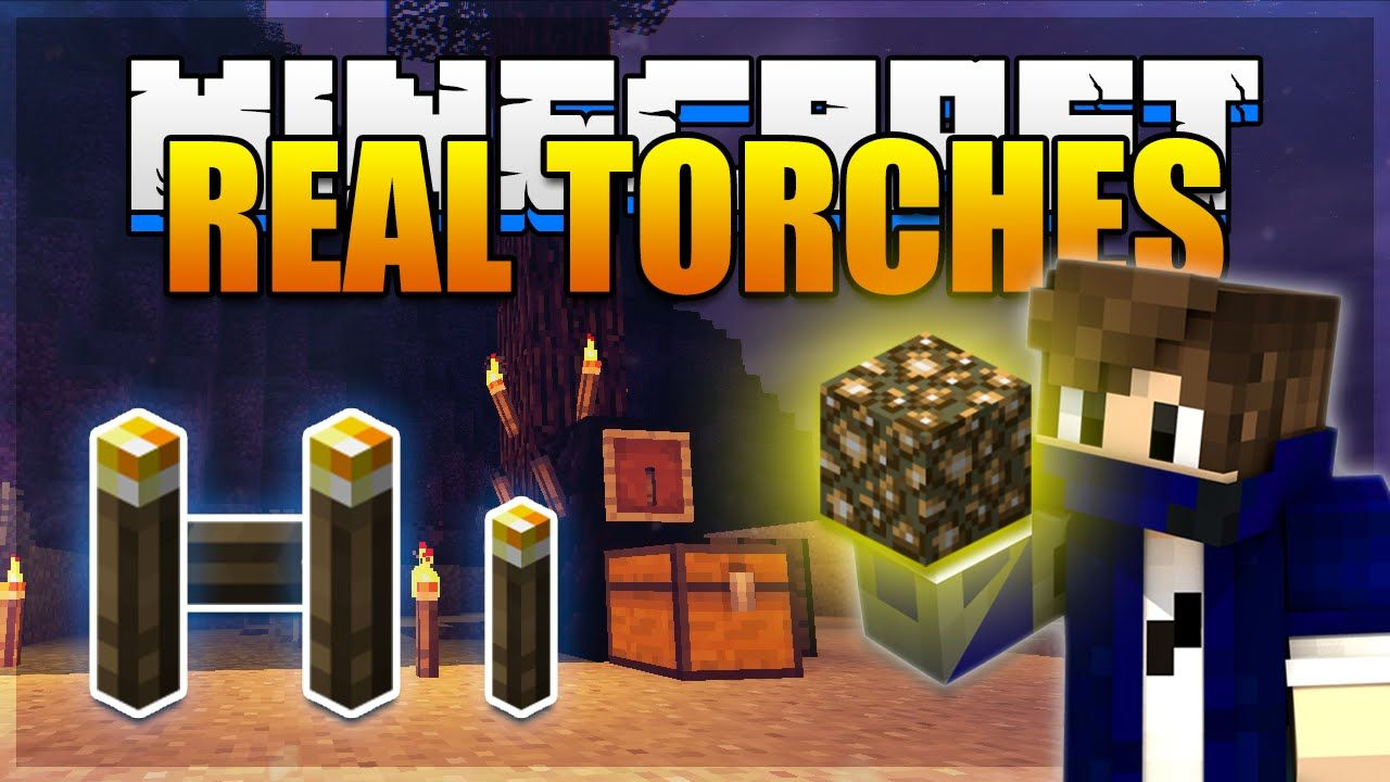 Realistic Torches Mod 1 12 2 1 11 2 Download Minecraft 1