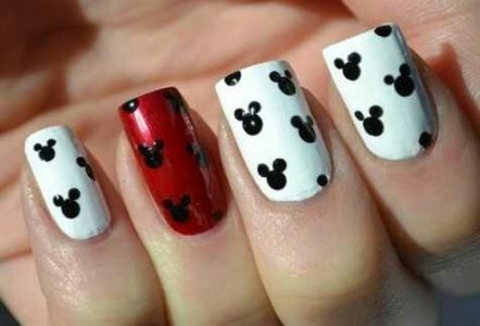 39 ideas nails design easy simple disney for 2019