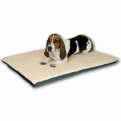 71 99 77 99 K H Pet Products Ortho Thermo Bed Medium White And Green 17 X 27 There Is A K H Ortho Thermo Medium Dog Bed Orthopedic Dog Bed Heated Dog Bed
