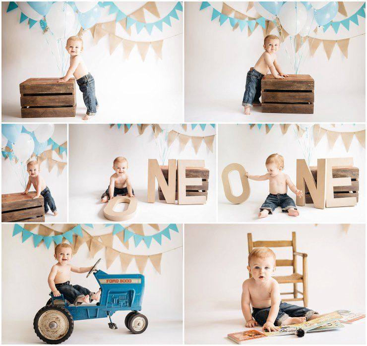 Levi's First Birthday Photo Session