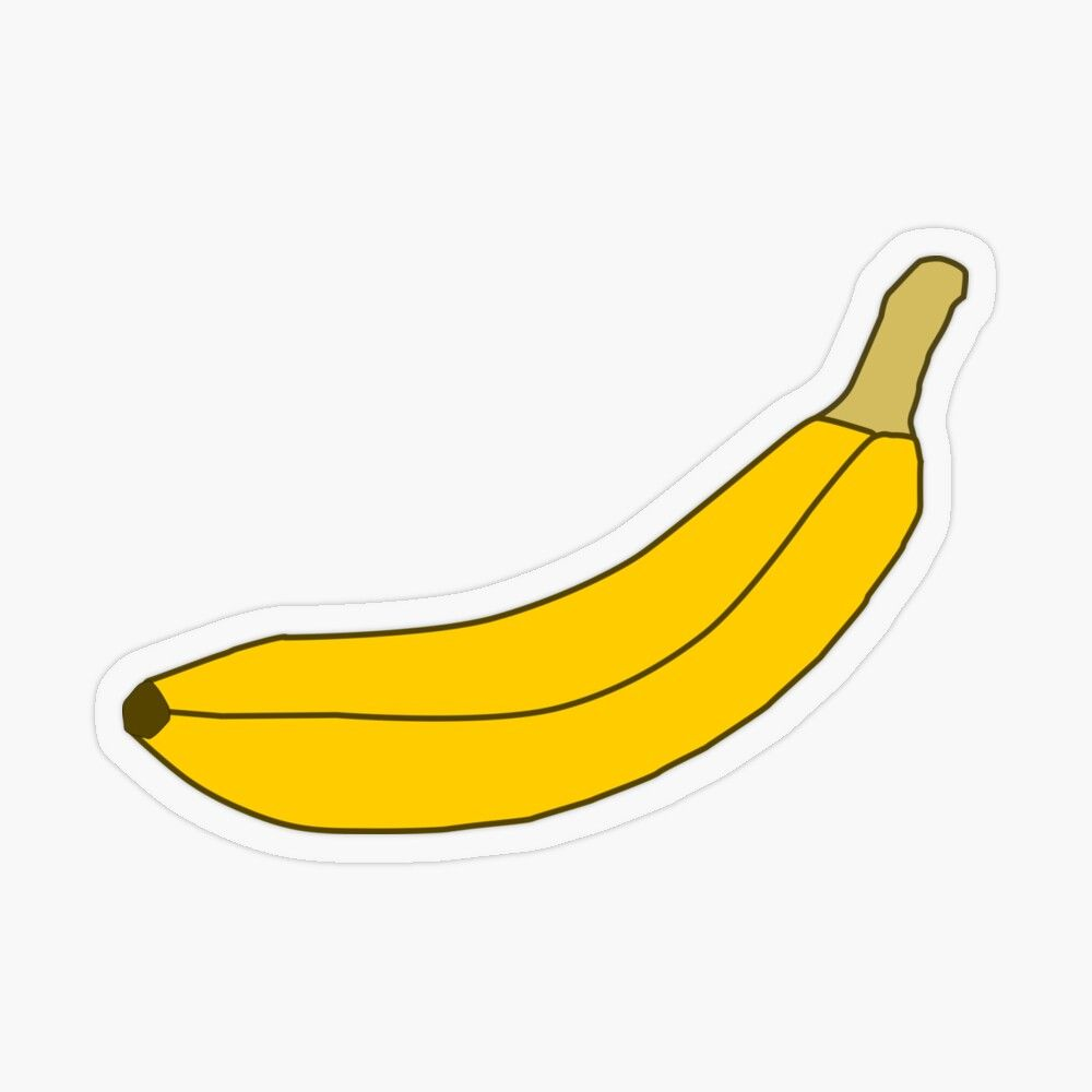 Get My Art Printed On Awesome Products Support Me At Redbubble Rbandme Https Www Redbubble Com I Sticker Banana Carto In 2020 Cartoon Graphic Transparent Stickers