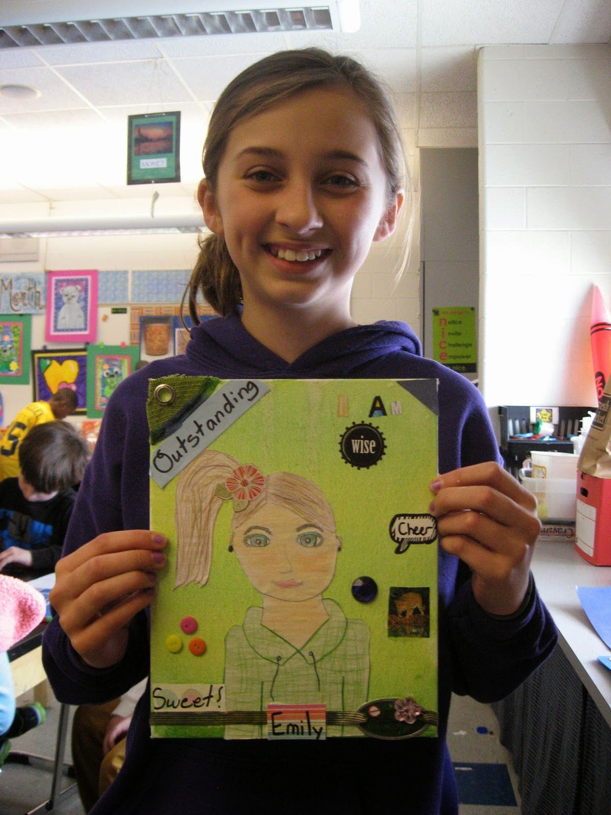 Jamestown Elementary Art Blog: Reporting: What I learned