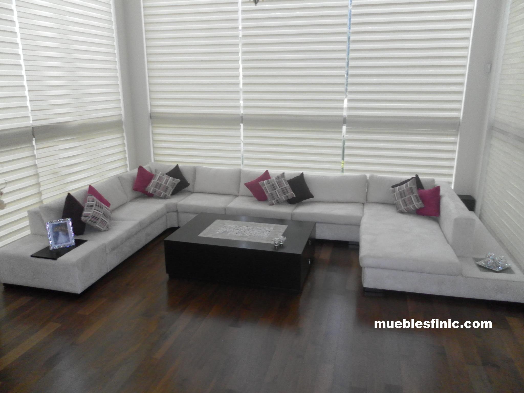 Salas modernas salas minimalistas salas de lujo salas for Disenos de muebles de sala