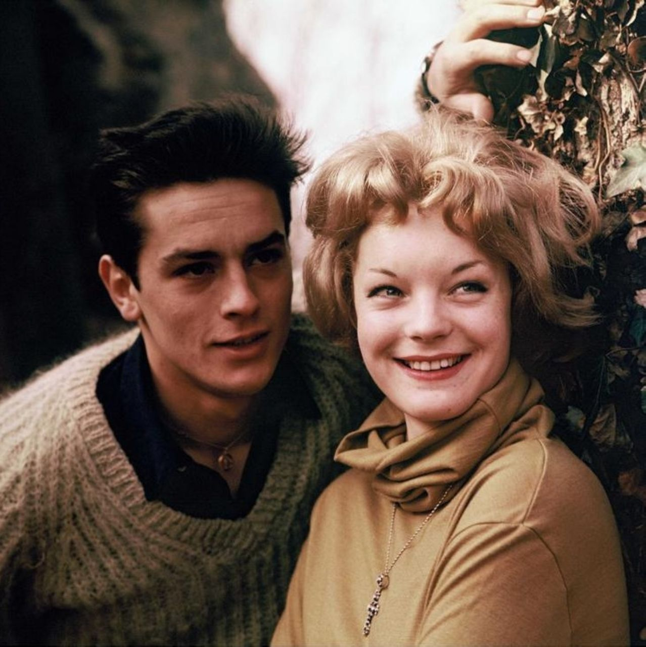 Yesterday Yes A Day With Images Alain Delon Romy Schneider