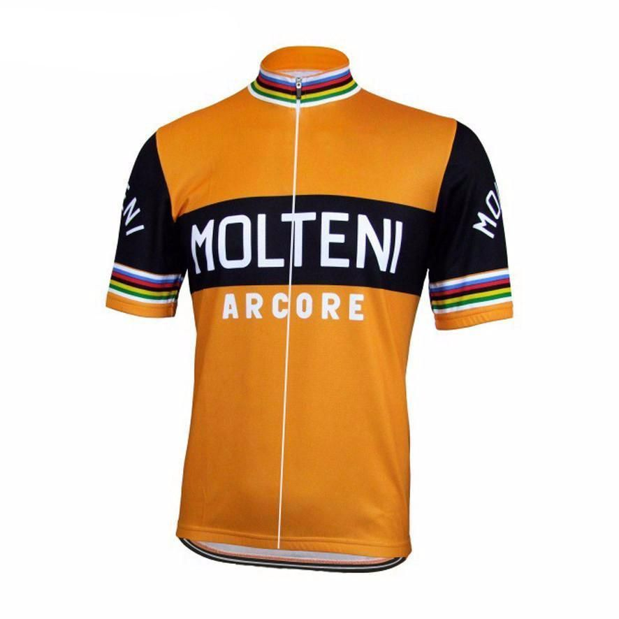 Eddy Merckx FAEMA RETRO VINTAGE CYCLING TEAM SHORT SLEEVE SUMMER BIKE JERSEY