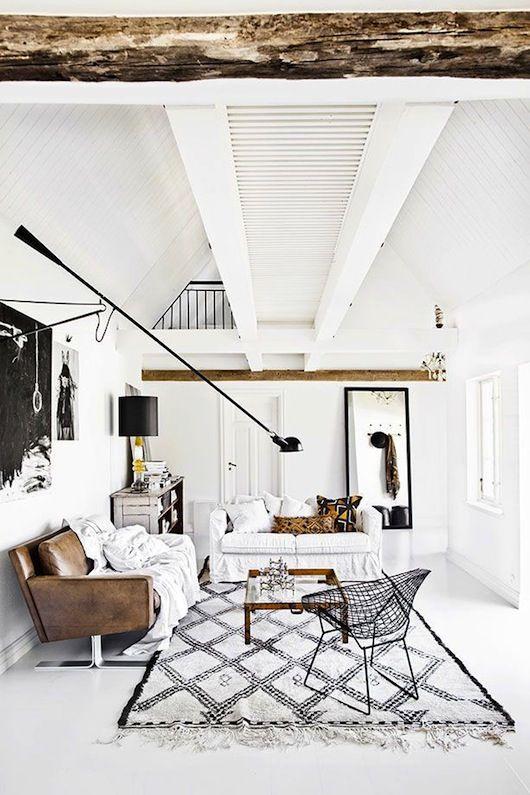 interior design ideas black and white house