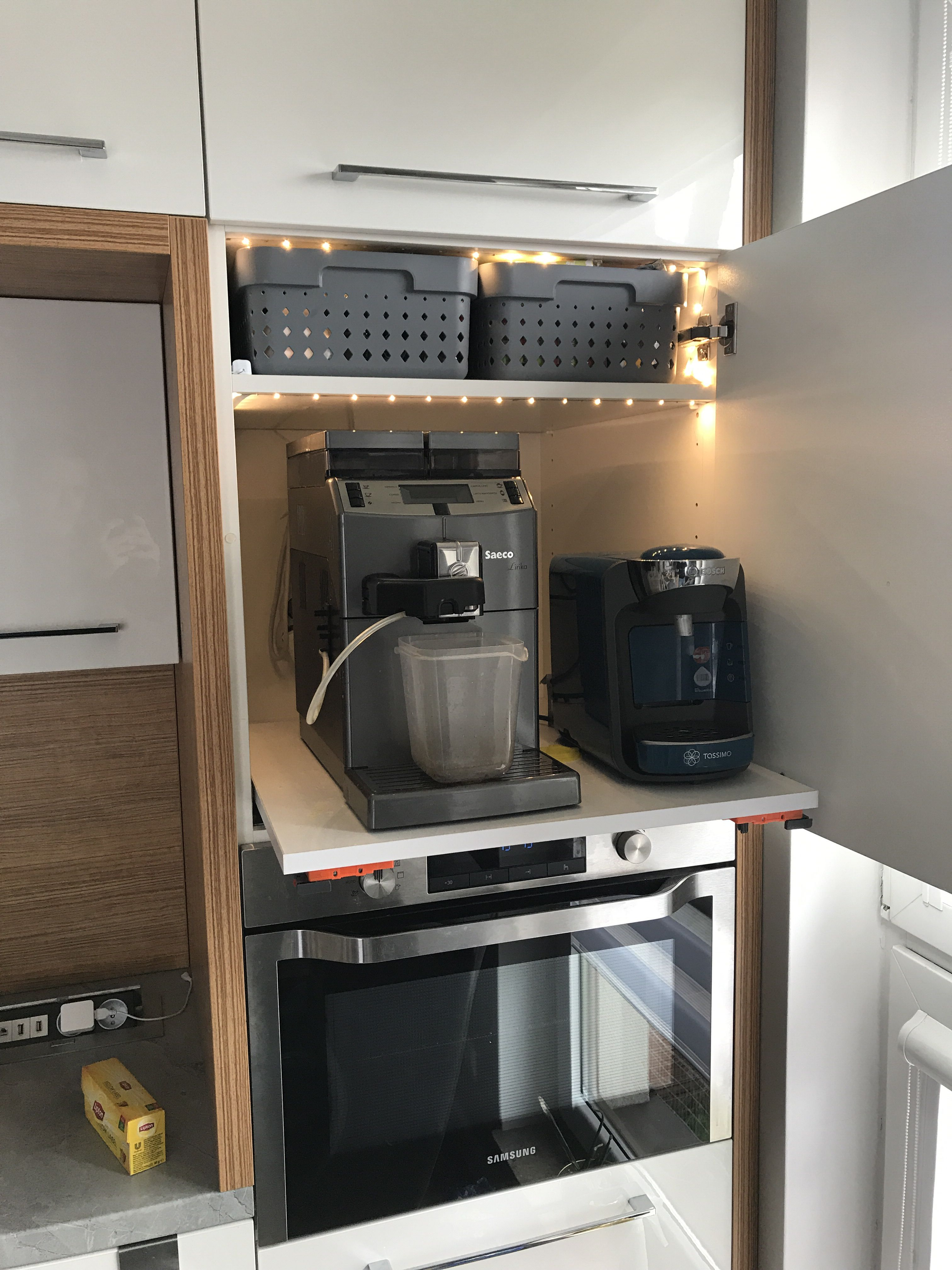Ekspres Do Kawy Ukryty W Szafce Kuchennej Home