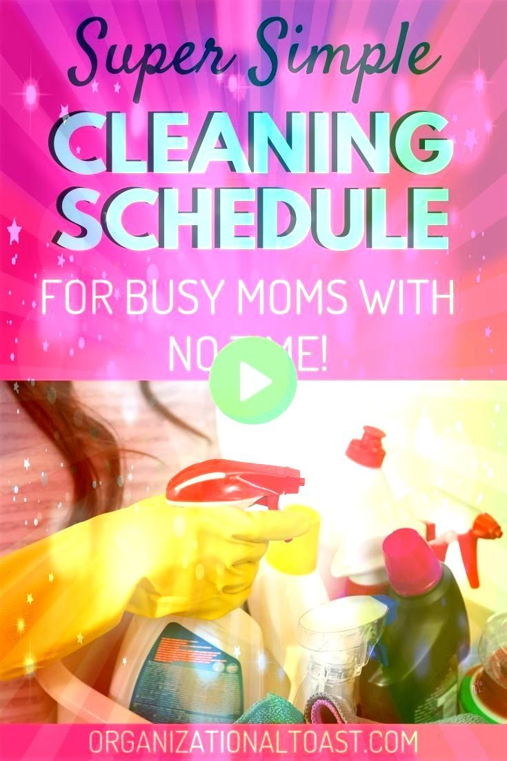 Easiest Cleaning Schedule For Busy Moms The Easiest Cleaning Schedule For Busy Moms The Easiest Cleaning Schedule For Busy Moms Heres exactly how to create a simple clean...