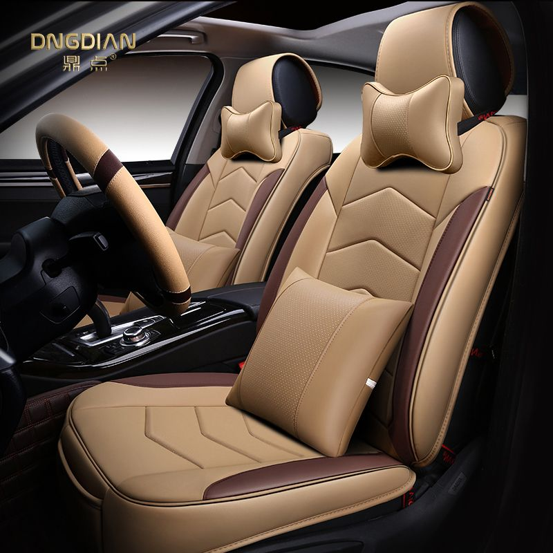 Styling Car Seat Cover For Hyundai Elantra Santa Fe Sonata Tucson 2016 Solaris Veloster AccentCar Covers