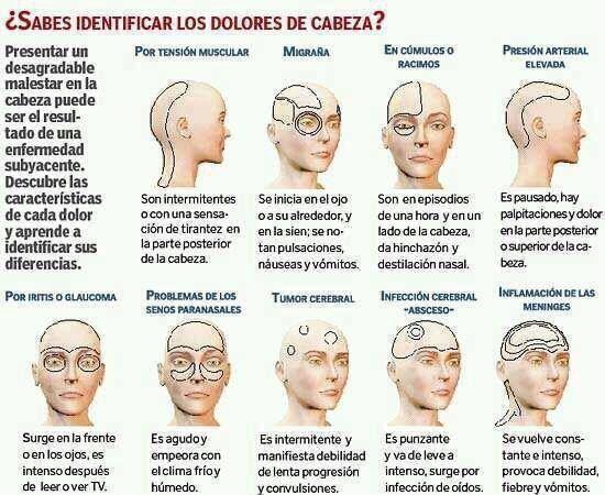 Interpretación de una cefalea.