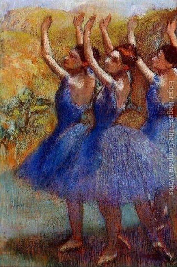 Les Et 1917Peintre Edgar Degas Ballerines1834 vn0wmN8