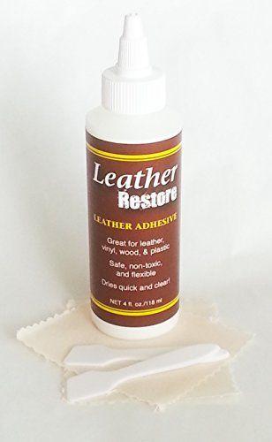Leather Repair Adhesive 4 Oz Glue Bond Cement Leather Fabrics Leather Repair Leather Glue Leather Fabric
