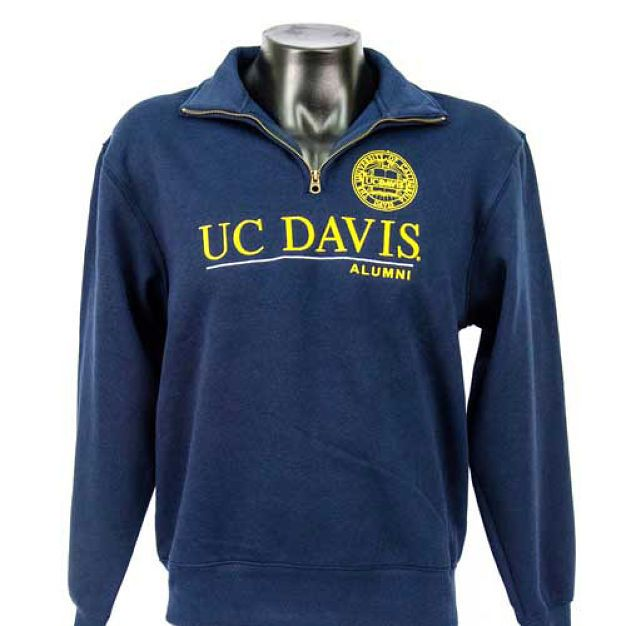 Men S 1 4 Zip Alumni Sweater Sweatshirt Quality Embroidery Center Chest In Uc Davis Gold Made By Jansport 55 C Sweatshirts Sweater Sweatshirt Mens Outfits