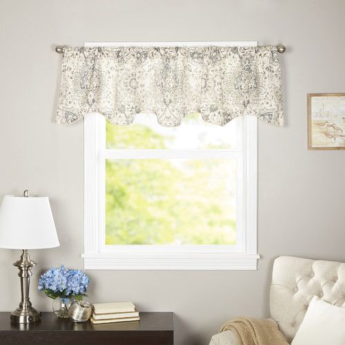 Found It At Joss Main Paisley Curtain Valance Window Curtains