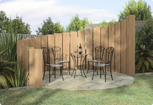 There are numerous types of fences that will create different looks