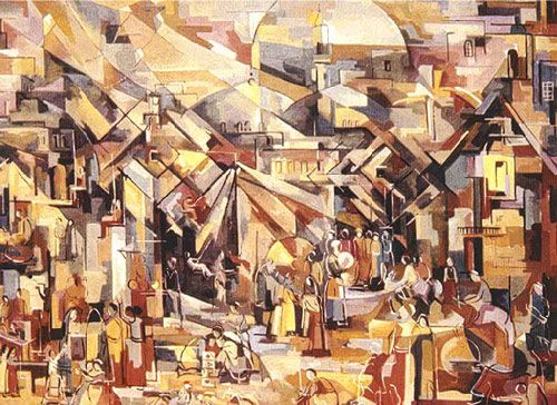 Iraqi Art Hafidh Duroubi 1914 Baghdad Arab Artists Arabic Art Culture Art