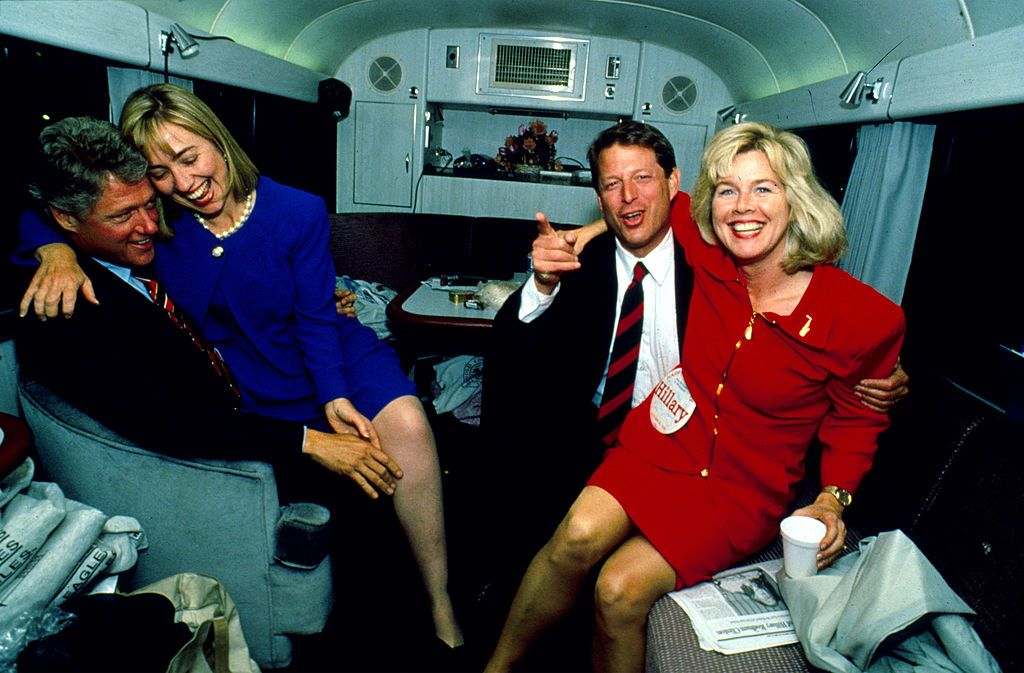 Image Result For Hillary And Bill Clinton 90s