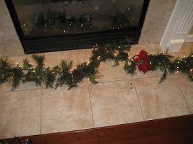 skraggly christmas garland