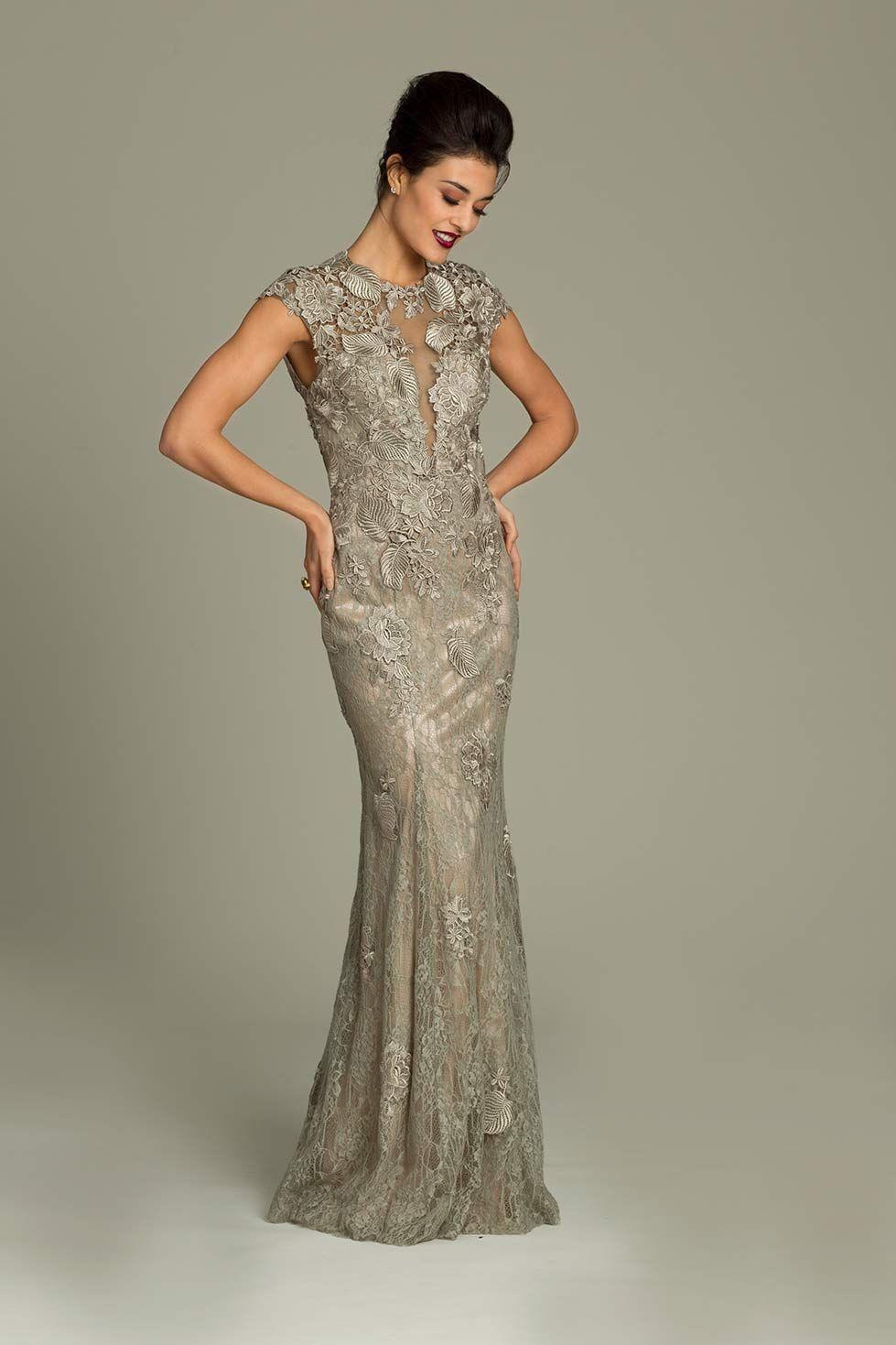 Cap sleeve Jovani gown | Evening Dresses | Pinterest
