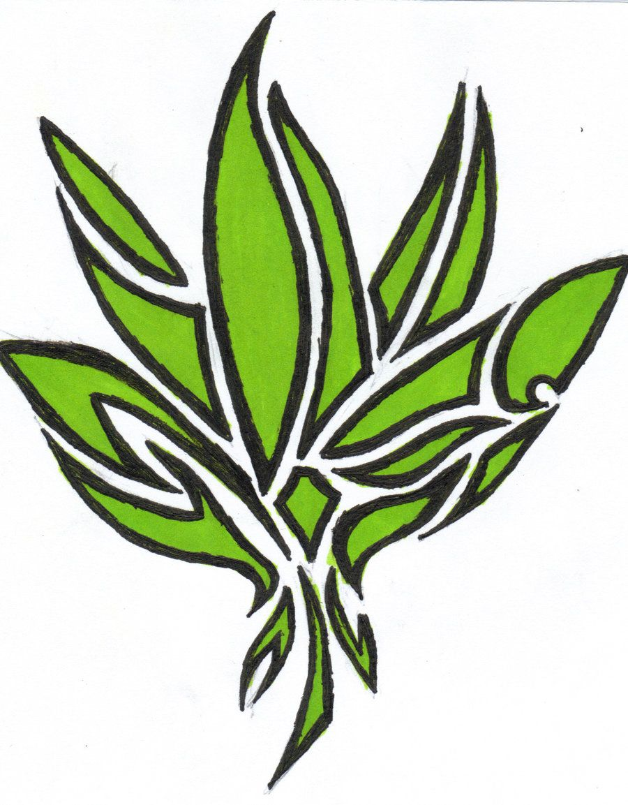 pin by didee buck on pakalolo pinterest weed plants and outlines rh pinterest co uk Weed Drawings Horny Goat Weed